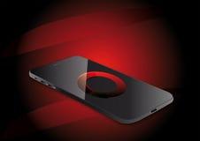 Smartphone visuell vektorillustration Fotografering för Bildbyråer
