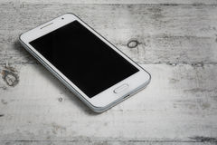 Smartphone on white background Royalty Free Stock Photo