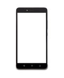 Smartphone with white screen Royalty Free Stock Photography