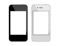 smartphonepekskärm Arkivfoton