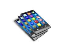 Smartphones Fotografie Stock