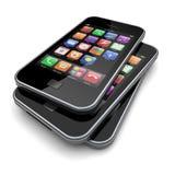 Smartphones Stock Photography