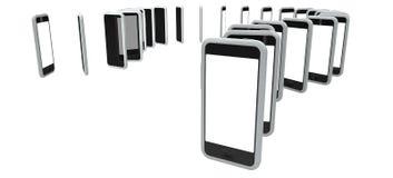 Smartphones стоковые фотографии rf