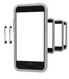 Smartphones Arkivfoto