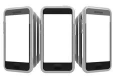 Smartphones стоковые изображения