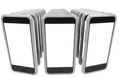Smartphones стоковые изображения rf