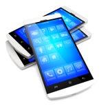 Smartphones Stock Foto