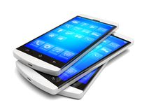 Smartphones Royalty-vrije Stock Foto