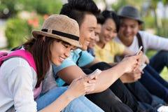 Smartphones Photo libre de droits