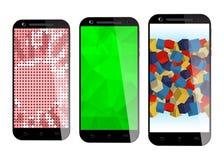 Smartphones Stock Afbeelding