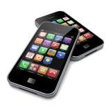 Smartphones Royalty-vrije Stock Foto's