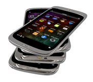 Smartphones genéricos Imagem de Stock Royalty Free