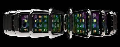 Smartphones generici Fotografie Stock
