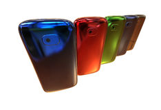 Smartphones generici Immagine Stock