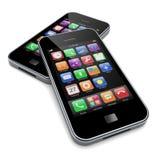 Smartphones Royalty Free Stock Photos