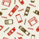 Smartphones och mobila telefoner Royaltyfria Foton