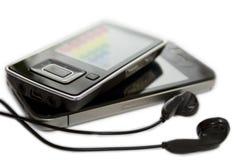 Smartphones  on white Stock Image