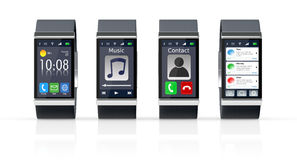Smartwatch ελεύθερη απεικόνιση δικαιώματος