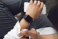 SmartWatch Fotografia de Stock