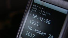 Smartwatch affronta video d archivio