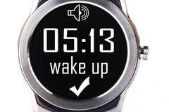 Smartwatch despierta Imagen de archivo libre de regalías
