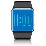Smartwatch ha isolato Fotografie Stock Libere da Diritti