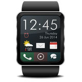 Smartwatch Home Royalty Free Stock Image