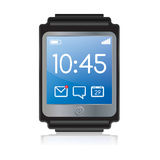 Smartwatch-Illustration Stockfotografie