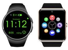 Smartwatch a isolé, illustration réaliste de vecteur Photographie stock