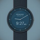 Smartwatch mockup Royalty Free Stock Photo