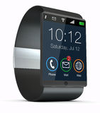 Smartwatch moderne Photographie stock libre de droits