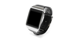 Smartwatch na perspectiva isolada Foto de Stock Royalty Free