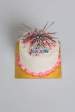 Smash Cake Happy Birthday Royalty Free Stock Photos