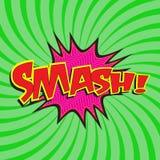Smash! wording Stock Photos