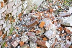 Smashed brick Stock Images