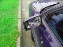 Smashed car Stock Images