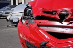 Smashed cars Royalty Free Stock Image