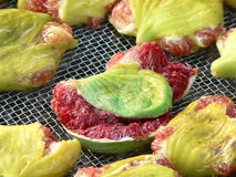 Smashed figs Stock Photo