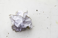 Smashed paper Royalty Free Stock Photography
