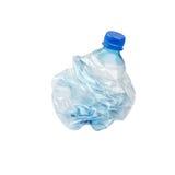Smashed Plastic Bottle Stock Photos
