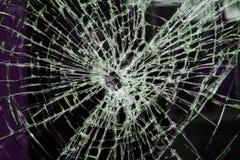 Smashed window royalty free stock photos