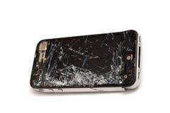 Smashed smart phone Stock Image