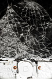 Smashed smart phone Royalty Free Stock Photo
