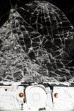 Smashed smart phone Royalty Free Stock Photo