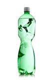 Smashed water bottle Royalty Free Stock Photos