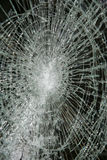 Smashed window Stock Photography