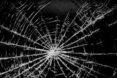 smashedglass1 fotografia stock