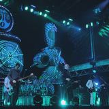 The Smashing Pumpkins concert royalty free stock photography
