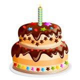 Smaskig Cake Arkivbilder