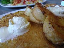 smaskig frukost royaltyfri bild